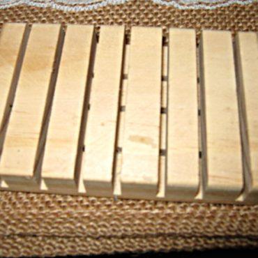 Wooden Handmade Soap Dish